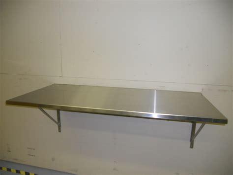 table murale rabattable inox tables et stations de travail salles blanches 233 quipements de
