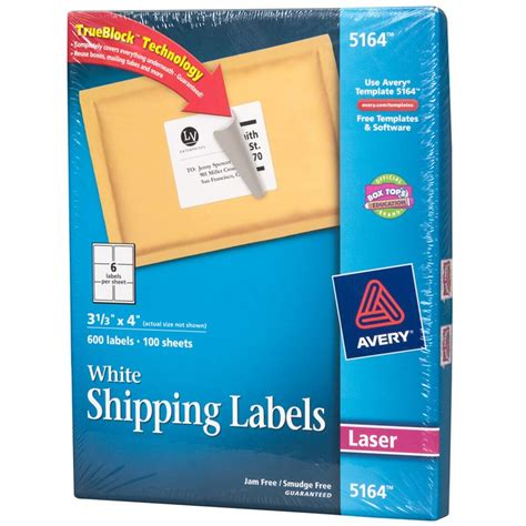 Avery Shipping Label Template 5164 by Fantastic Avery Labels 5164 Template Pattern Exle