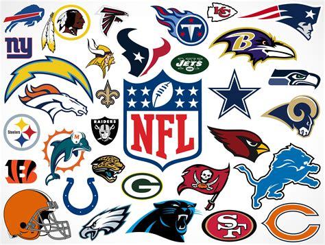 National Football League Team Vector Logos • Market Your ...