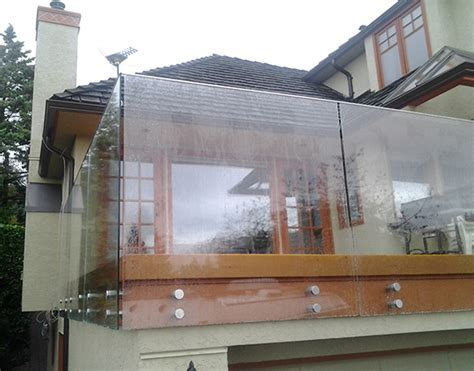 home interior railings vancouver seamless frameless glass railing installations