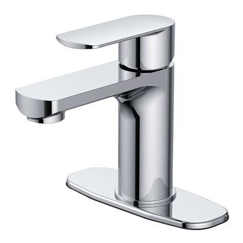 Lowes Modern Bathroom Faucets by Primo Chrome 1 Handle Single 4 In Centerset