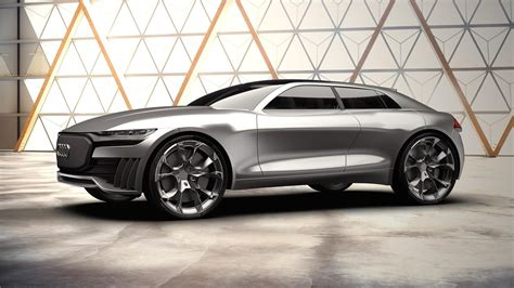 Audi Q4 Etron Concept Is An Interesting Electric Suv Proposal