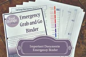 family emergency binder free checklist to create your own With family documents binder