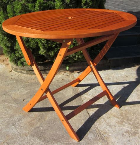 hardwood wooden folding garden table folding wood