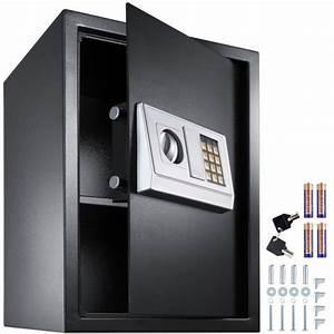 Coffre Fort Maison : coffre fort en acier lectronique 50 cm x 35 cm x 34 5 cm ~ Teatrodelosmanantiales.com Idées de Décoration