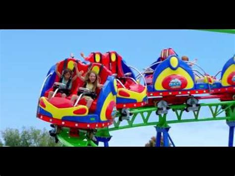 crazy coaster adventure park geelong youtube