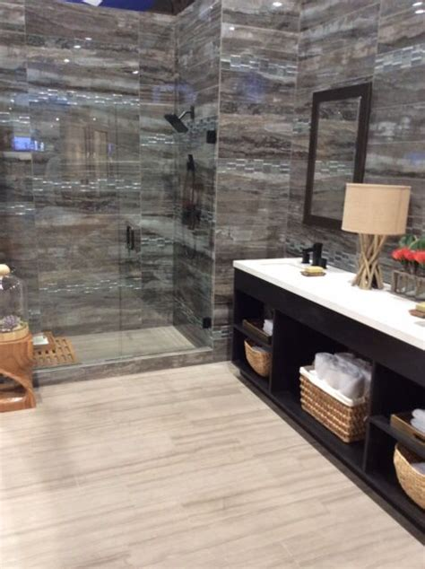 river marble daltile install  pinterest rivers