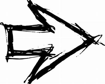 Drawn Hand Arrow Transparent Arrows Market Everything