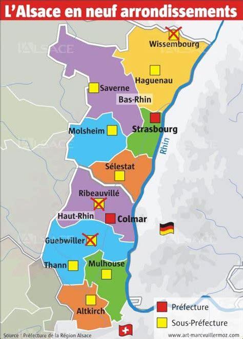 préfecture d 39 alsace et du bas rhin à strasbourg strasbourg la nouvelle carte des arrondissements se