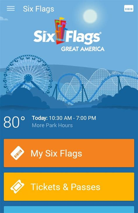 six flags season pass phone number six flags launches new app for android and apple devices