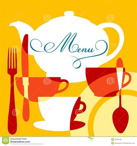 restaurant menu cover royalty  stock images image