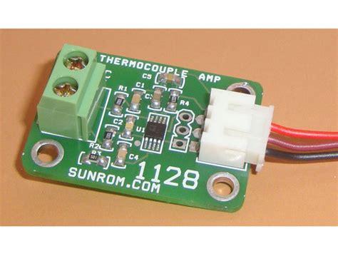 Analog Output K-type Thermocouple Amplifier [1128