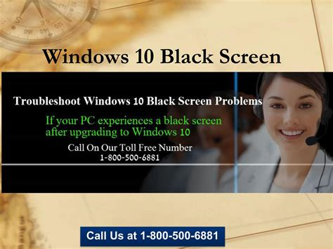 1 800 500 6881 Windows 10 Black Screen Support By