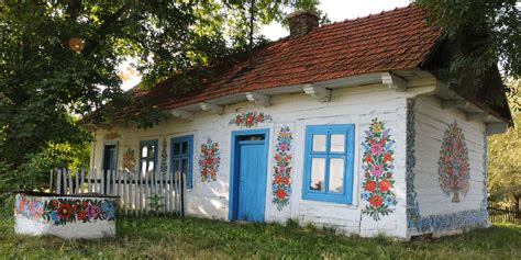 The Painted Village Of Zalipie, Poland  Country Living