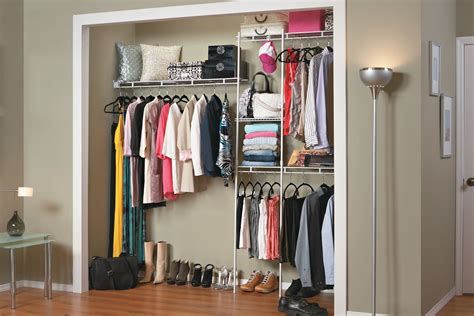 affordable closet organizer kit steel    feet review