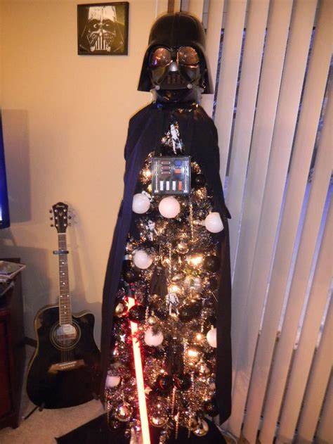 darth vader christmas tree 1000 images about in a galaxy far far away on pinterest carrie fisher princess leia and war