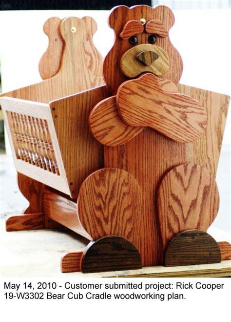 bear cub cradle woodworking plan