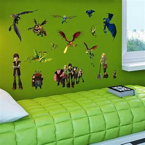 best selling how to train your dragon wall sticker cartoon With best 20 how to train your dragon wall decals