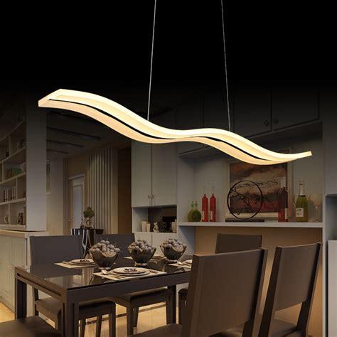 suspended kitchen lighting aliexpress buy 40w 56w led pendant lights modern 2621