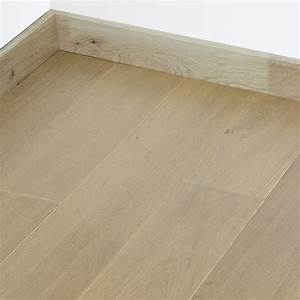 parquet chene massif francais huile finition marron fume 22mm With parquet chanfreiné