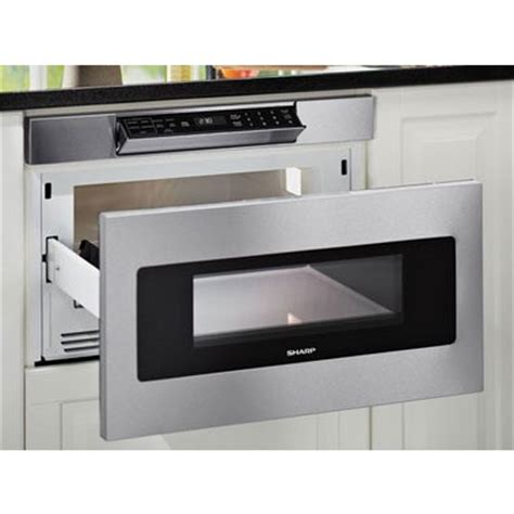 sharp drawer microwave 24 sharp smd2470as 24 quot microwave drawer