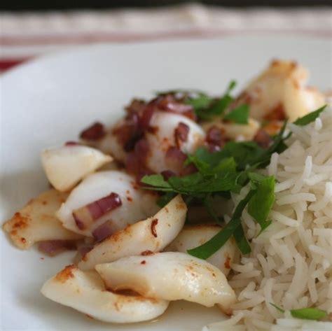 cuisine calamar lamelles d 39 encornet toutes justes grillées ma cuisine