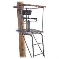 sniper swivel top ladder stand 637203 ladder tree stands at sportsman s guide