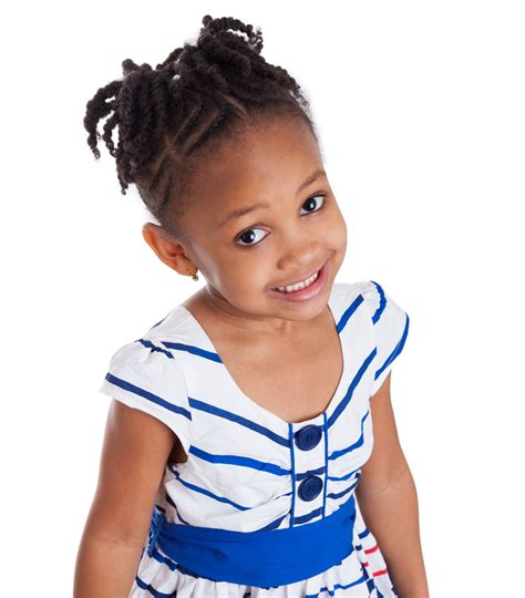 cute african american braided hairstyles for kids