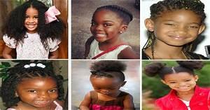 Coiffeuse Noir Et Blanche : 10 coiffures pour petites filles noires et m tisses ~ Teatrodelosmanantiales.com Idées de Décoration