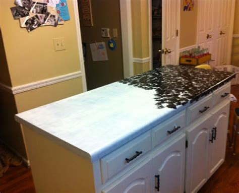 great step by step for painting countertops