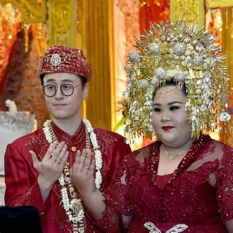 indonesian girl marries korean man of her dreams