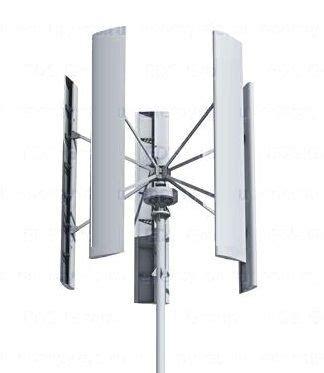 Ветрогенератор sokol air vertical 1 квт вертикальноосевой вертикальный купить по цене в россии на аллой.ру