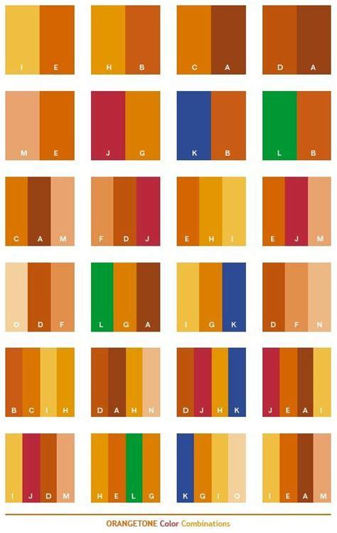 orange tone color schemes color combinations color