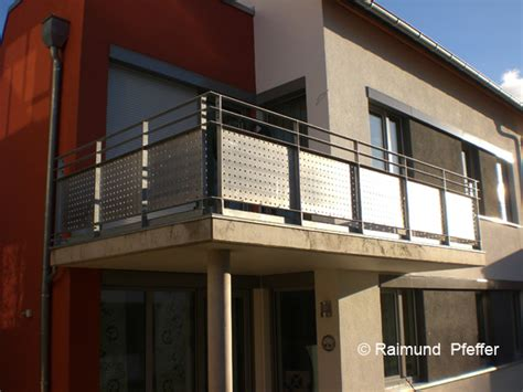 pfeffer metalltechnik balkone