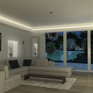 Eclairage Led En Ruban : eclairage int rieur rubans led kit ruban led 1 5m blanc ~ Premium-room.com Idées de Décoration