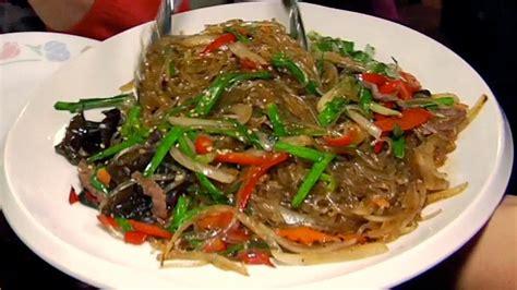 japchae recipe korean recipes pbs food
