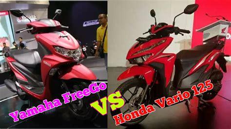 adu yamaha freego vs honda vario 125 hebat mana semua ada disini bengkel motor