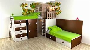 Ideen Für Kleine Räume : kinderzimmer ideen f r kleine r ume m belideen ~ Bigdaddyawards.com Haus und Dekorationen