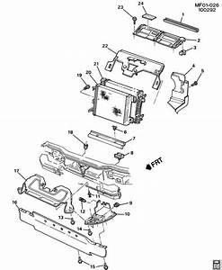 1995 Chevrolet Camaro Base 2dr Insulator  Radiator