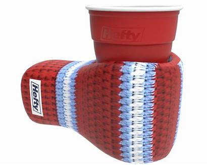 Hefty Parka Ugly Koozie Party Cup Holiday