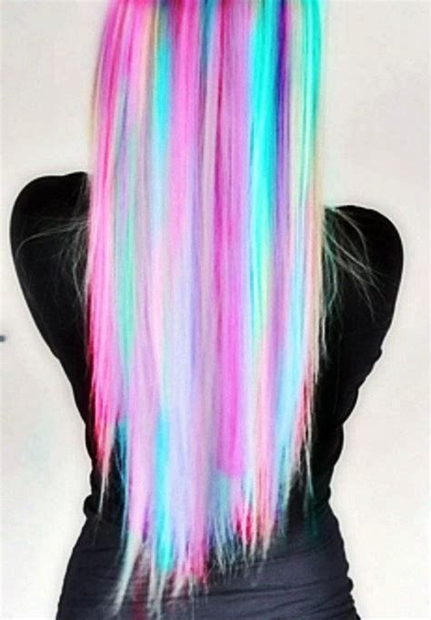 Rainbow Hair Okay I Would Never Ever Do This Even If
