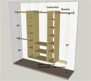 Closet Shelving Heights by Modular Closet Organizer Buildsomething Com