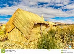 Hin Und Mit : nach hause mit stroh gedeckt auf sich hin und herbewegenden inseln auf titicaca see puno peru ~ Eleganceandgraceweddings.com Haus und Dekorationen