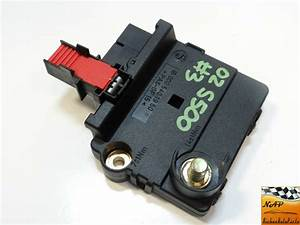 02 Mercedes S500 W220 Rear Junction Battery Fuse Box Assembly 0005401950 Oem