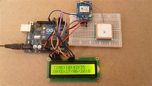 Arduino Gps Real Time Clock With Neo-6m Module