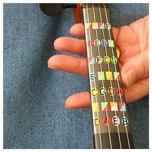 Violin Fingerboard Sticker Guide Label Practice Finger