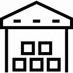 Warehouse Icon Storage Factory Unit Icons Building