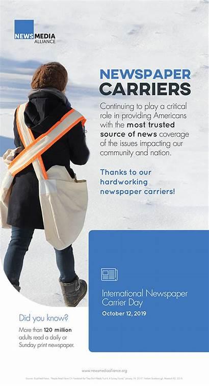 Carrier Newspaper International Ad Carriers Salute Designated