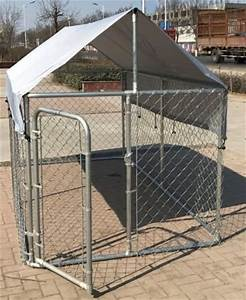chickencoopoutlet large outdoor chain link dog kennel With large outdoor dog kennel with cover