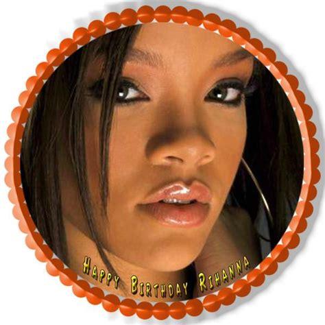 Rihanna 3 Edible Cake & Cupcake Topper  Edible Prints On